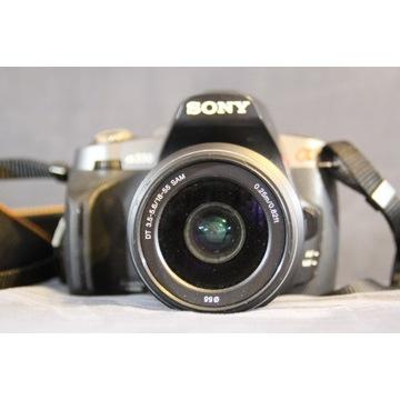 Sony Alpha 330 - lustrzanka + obiektyw