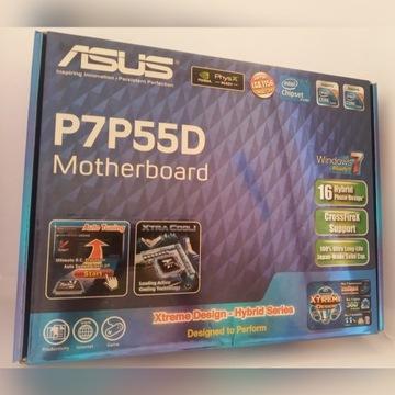 Płyta główna ASUS P7P55D LGA 1156 DDR3 bezpie. O/C