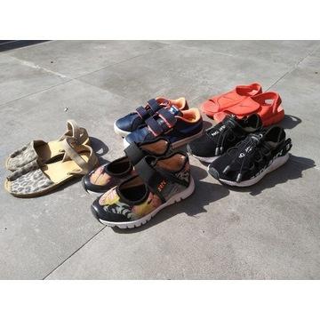 5 par markowych bucików rozmiar 27