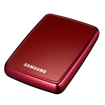 Dysk przenośny Samsung S2 Portable 500 GB bordowy
