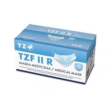 Certyfikowane maseczki TZF II R, 100 sztuk