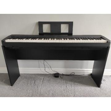 Pianino cyfrowe Yamaha P-45 + drewniany statyw.