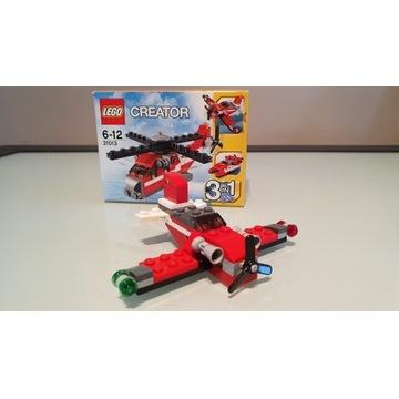 LEGO CREATOR 31013 Czerwony Grom 3w1 Helikopter