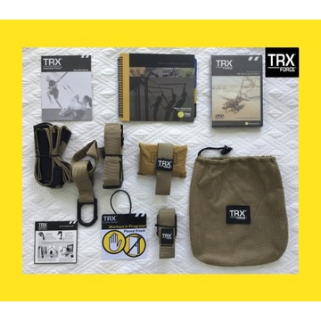 TRX Force-Taśmy do Ćwiczeń/Crossfit+DVD