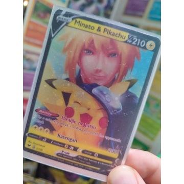HIT! Custom Karty Pokemon- Naruto Crossover TCG