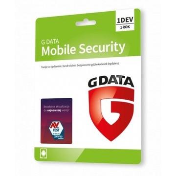 G Data Mobile Security 1licencja/1rok