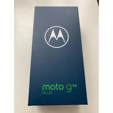 Motorola Moto g5G Plus 6/128GB (niebieski), nowy