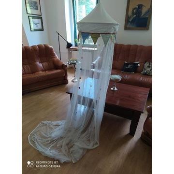 Baldachim dzieciecy moskitiera IKEA używany