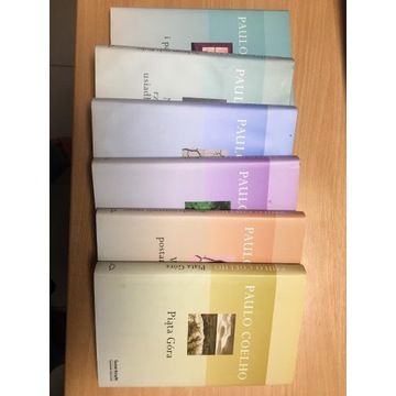 Paulo Coelho 6 książek