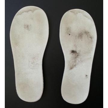 miękkie piankowe wkładki do butów roz. 28 17,5 cm