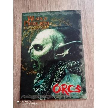 Pocztówka Władca Pierścieni - Orcs