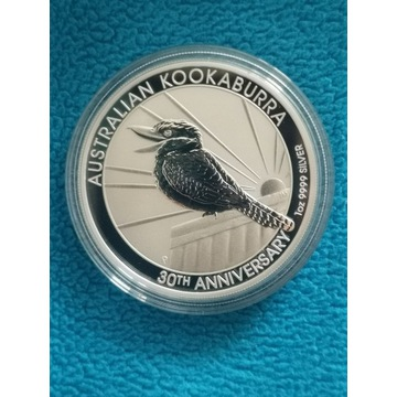 KOOKABURRA AUSTRALIA 2020r 1 uncja srebra 9999