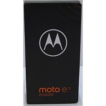 NOWA Motorola Moto E7i Power zaplombowana
