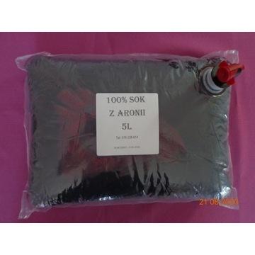 Sok z ARONII 5L - 100% owoc