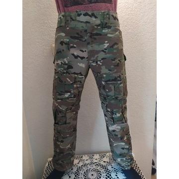 Spodnie bojówki  z nakolannikami strzeleckie