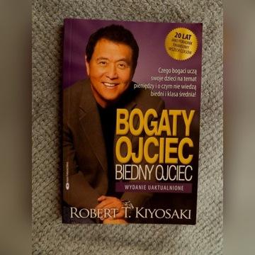 "Robert Kiyosaki ""Bogaty ojciec, biedny ojciec"""