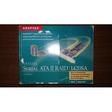 Kontroler RAID Adaptec 1420SA  4-Porty SATA
