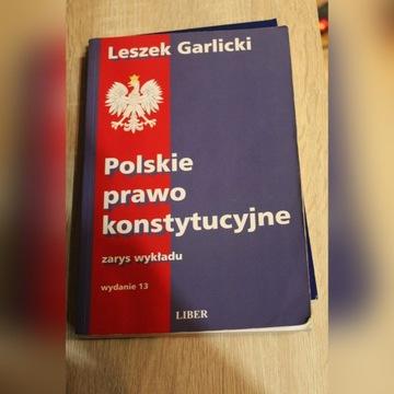 Prawo konstytucyjne L.Garlicki