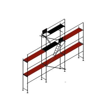 Rusztowanie elewacyjne NOWE plettac pletak 9x8,5