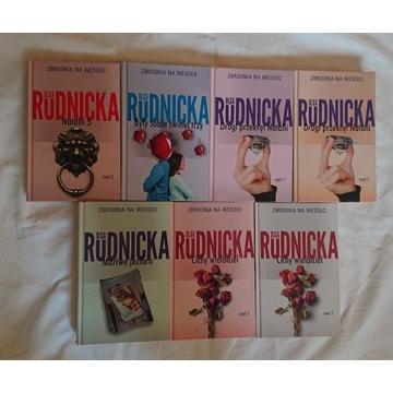 Olga Rudnicka zestaw ksiazek