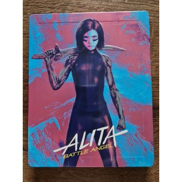 Alita: Battle Angel 4K UHD Steelbook PL