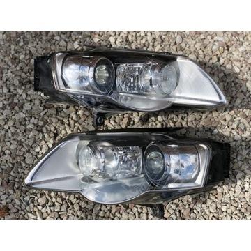 Reflektory Lampy Passat B6 Bi Xenon skrętny KPL