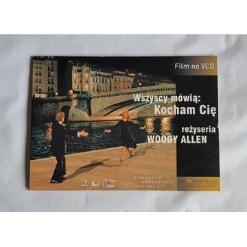 Wszyscy mówią: kocham cię - Woody Allen - VCD