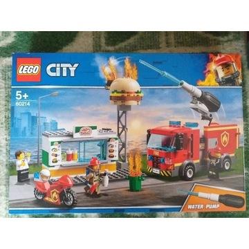 KLOCKI LEGO 60214 CITY Na ratunek w płonącym barze