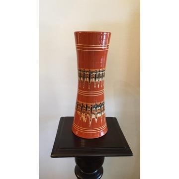 VINTAGE bułgarski wazon ceramiczny