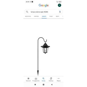 Lampa solarna EGLO