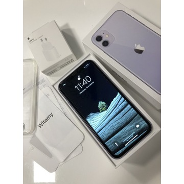 Iphone 11 64GB fioletowy