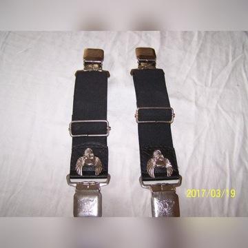 motocyklowe szelki do nogawek spodni