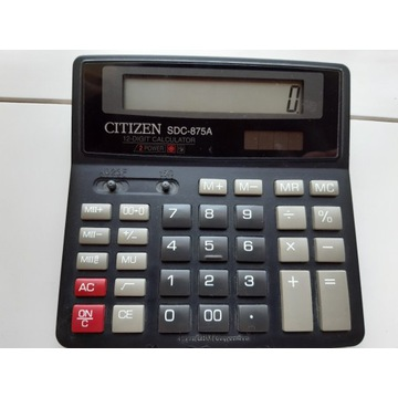 "Elektroniczny Kalkulator "" CITIZEN"""