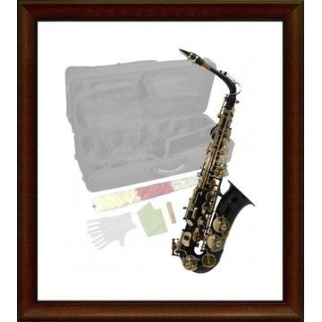 Saksofon altowy niemiecki Steinbach czarny M292