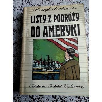 Sienkiewicz Henryk Listy z podróży do Ameryki