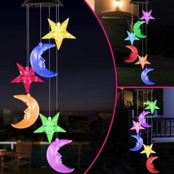 Księżyc LAMPKI LED WIATR NA SZCZĘŚCIE Feng Shui