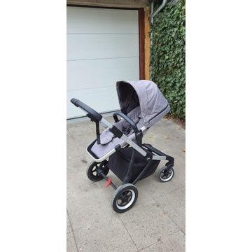 Wózek Thule Sleek gondola spacerówka +dodatki