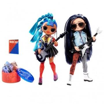 Lalka O.M.G. REMIX Rocker Boi i Punk Grrrl 2 LOL
