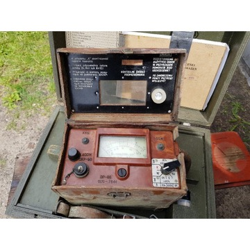 Rentgenoradiometr DP-66 licznik geigera WP