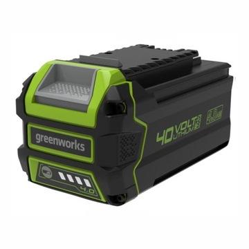 Greenworks nowy akumulator 4 Ah 40V G40B4 okazja