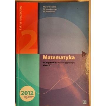 Matematyka- podręcznik do liceów i techników
