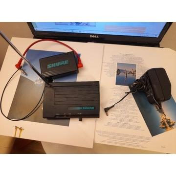 System bezprzewodowy GITARA Shure, Nadajnik + Odbi