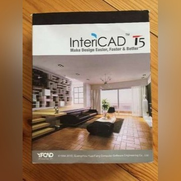 Program do projektowania wnętrz Intericad T5