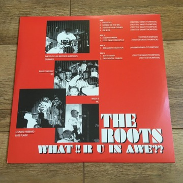 The Roots - What!! R U In Awe?? 2LP