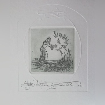 Grafika Święty Franciszek Paweł Nowak
