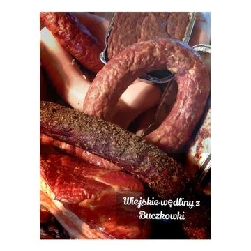 Kiełbasa w ziołach - 1 kg - Siedlisko Buczkówka