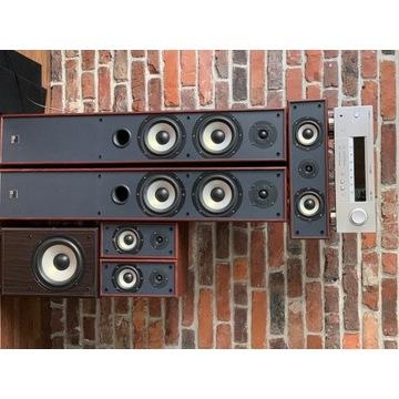 Kino domowe 5.1 MAudio + wzmacniacz Yamaha HTR590