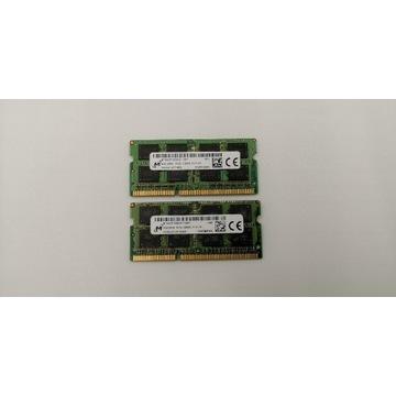 Pamięć RAM do laptopów(SO-DIMM). MICRON 8GB DDR3L