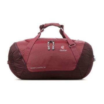 Deuter Aviant Duffel 50 czerwona torba/plecak 2w1