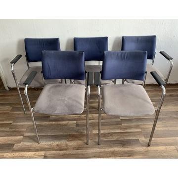 Krzesła plus kanapa komplet nowystyl